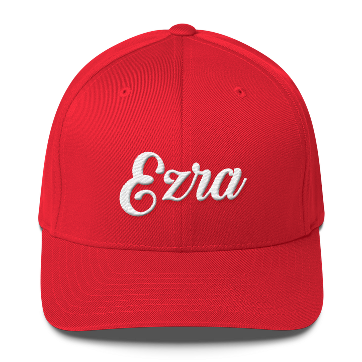 EZRA Embroidered Logo Flexfit Hat