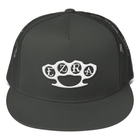 Brass Knuckles Embroidered Trucker