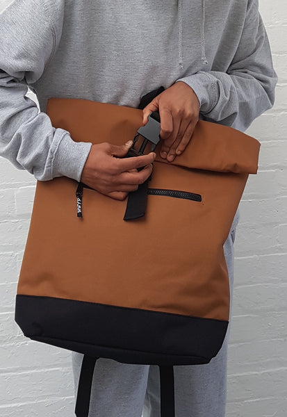 Slimline Backpack Camel
