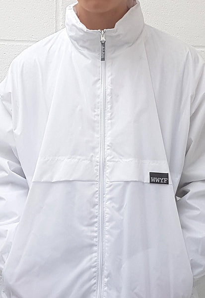 Waterproof Windbreaker White