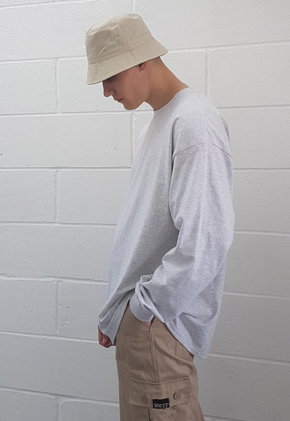 Reversible Bucket Hat Sand & Olive