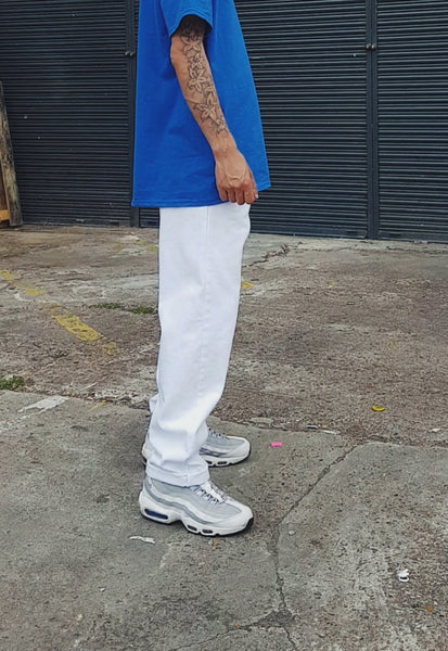 Raver Fit Jeans White
