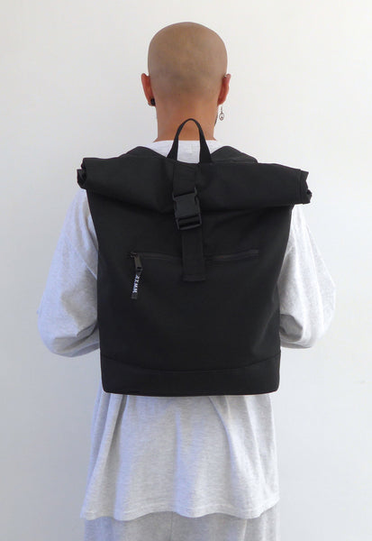 Slimline Backpack Black