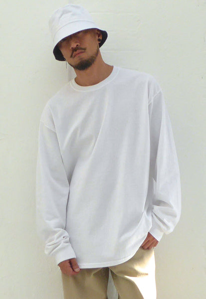 Ultra Baggy T-Shirt L/S White
