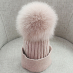 Pom Pom Beanie - Angel Cupboard