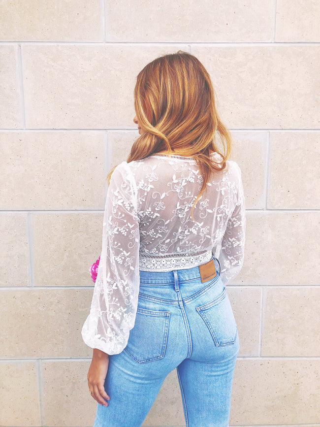 Lucille Lace Top
