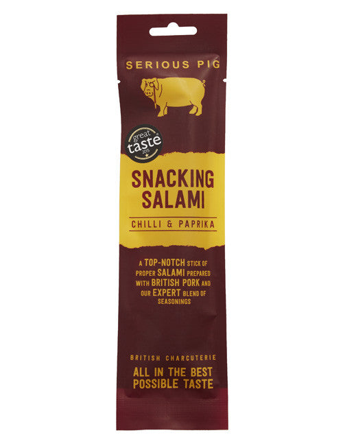 Serious Pig Snacking Salami - Chilli & Papika