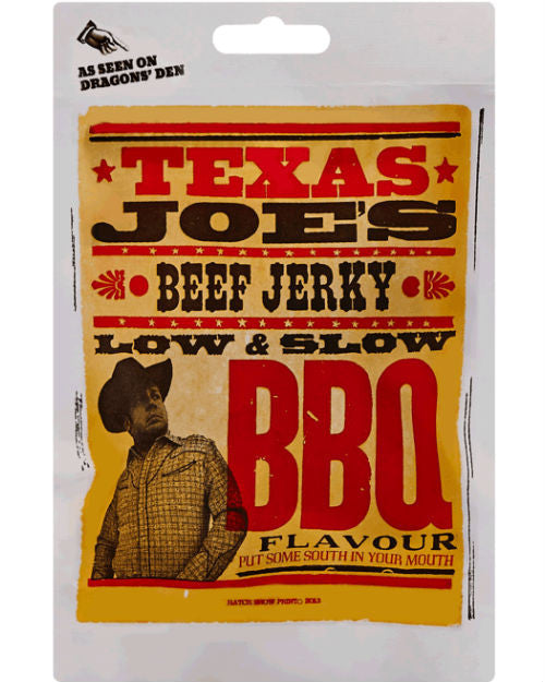 Texas Joe's Beef Jerky - Low & Slow BBQ (50g)