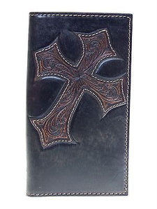 Diagonal Cross Wallet by Nocona  Rodeo 11 Credit Card front