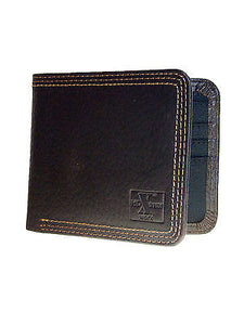 Nocona HD Xtreme Work Mens Western Leather Wallet/Bi-Fold/Br/Nylon Int front