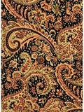 Paisley Gold/Black-GOLD Western Silk Wild Rags full