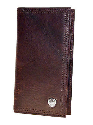 Ariat Rodeo Wallets/11Credit Card/Perform Work/Dk Copper front