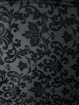 Silk/Poly Blend Jacquard Wild Rag Black and Silver 36 x 36 inch front