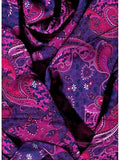 Paisley Pomegranate Western Cowboy Rags Ruffled