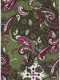 Paisley Watermelon Wyoming Traders Silk Wild Rags full