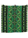 Southwest #6 Green/Black Buckaroo Wild Rags full