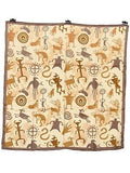 Southwest #8 Tan Cave Cowboy Wild Rags full