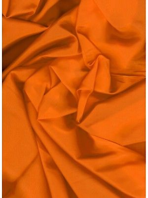 Solid Hunter Orange Western Cowboy Silk Wild Rag Bandana Buckaroo Scarf