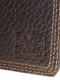 Nocona Rodeo Wallets HD Xtreme Work Mens Brown Leather Nylon Int detail 2