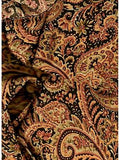Paisley Gold/Black-GOLD Western Silk Wild Rags ruffled