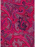 Paisley Fruit Punch Wyoming Traders Silk Wild Rags full
