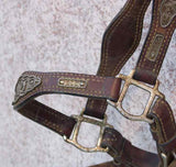 Vintage Show Halter With Filigree Sterling Silver Mountings detail 2