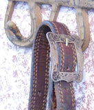 Vintage Show Halter With Filigree Sterling Silver Mountings detail 3