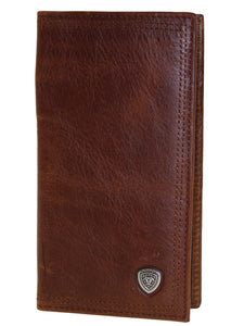 Performance Work 11 Credit Card Sunshine Med Brown Ariat Rodeo Wallets