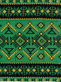 Southwest #6 Green/Black Buckaroo Wild Rags