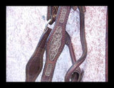 Vintage Show Halter With Filigree Sterling Silver Mountings detail