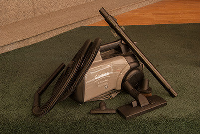 Hepa Mighty Mite Canister Vacuum