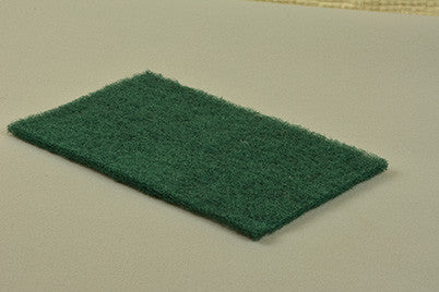 "6""x9"" Medium Green Hand Pad, 10pk."