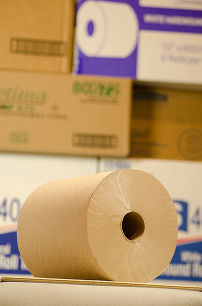 600' Kraft Roll Towel, 12/cs.