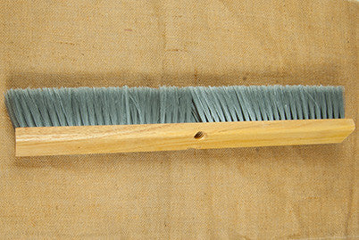 "24"" Gray Fine Sweep Broom"