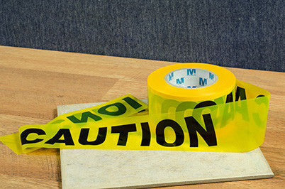 "3""x1000' Yellow Caution Tape"