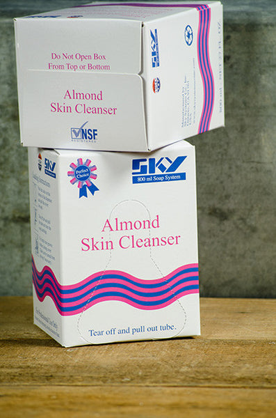800ml. Almond Skin Soap, 12/cs.