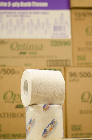 2Ply Econo Toilet Tissue, 96 Rolls/Cs.