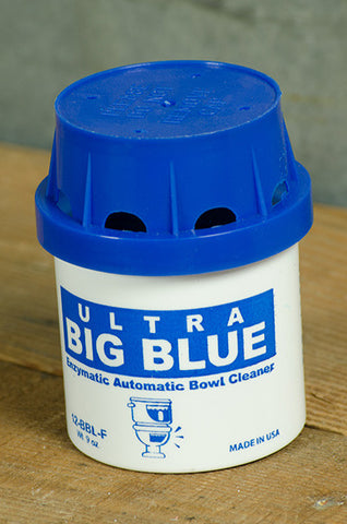 Big Blue Toilet Deodorant