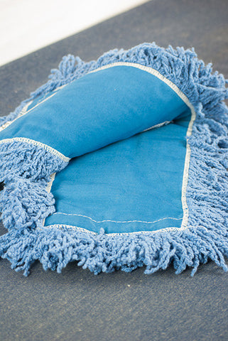"48"" Blue Dust Mop Refill"