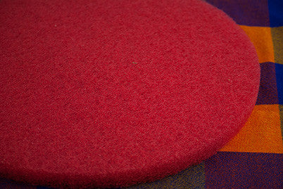 "17"" Red Floor Pad"