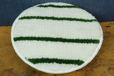 "15"" Green Stripe Bonnet"