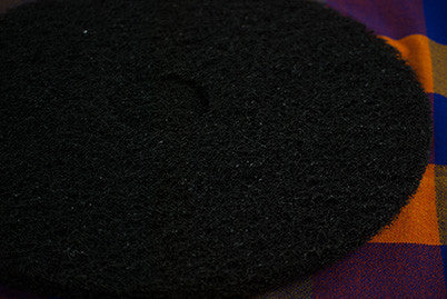 "19"" Black Floor Pad"