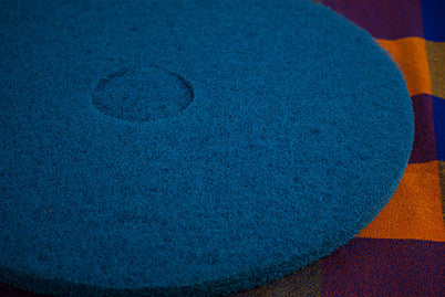 "20"" Blue Floor Pad"