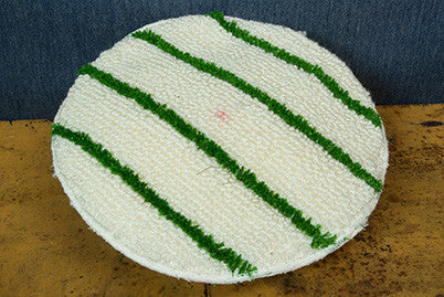 "13"" Green Scrub Bonnet"
