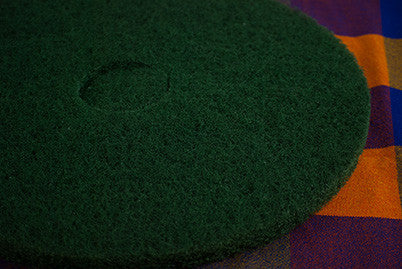 "13"" Green Floor Pad"