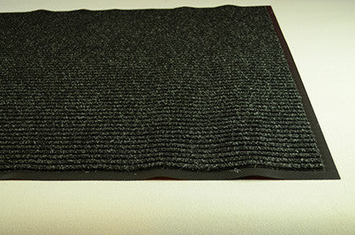 3' x 4' Needle Rib Charcoal Mat