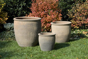 Campania International Egg Pot Planter - Set of 3