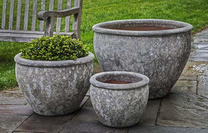 Campania International Corfu Planter - Set of 3