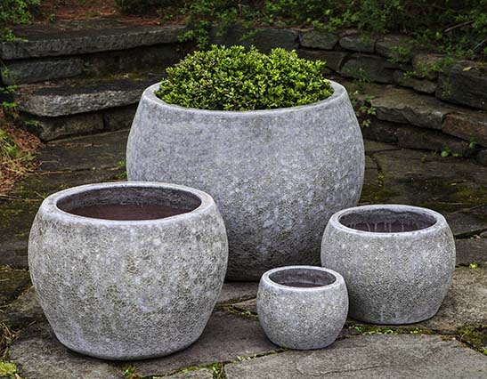 Campania International Naxos Planter - Set of 4