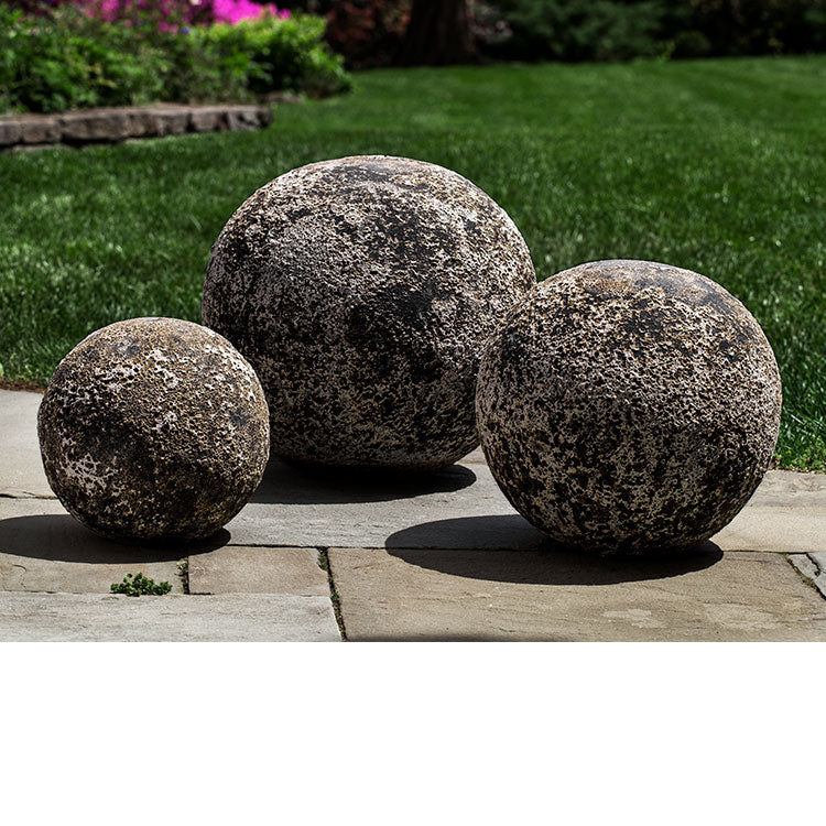 Campania International Angkor Spheres - Set of 3